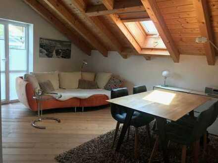 Exklusive, gemütliche 2-Zimmer-Wohnung mit herrlicher Bergsicht in Sonthofen von Privat ohne Makler