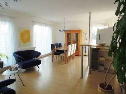 2 Zi-Penthouse-Whg + 40,90qm Dachterrasse