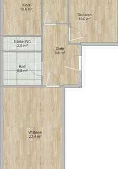 Exklusive, gepflegte 3-Zimmer-Wohnung mit Balkon in Obersendling, München *provisionsfrei*