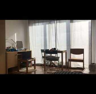 WG-Zimmer mit Balkon
