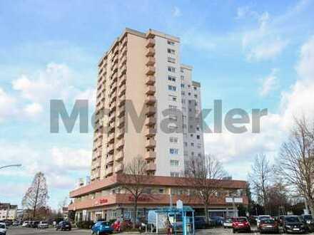 Renditestarkes Anlageobjekt: 1-Zimmer-Apartment mit Balkon zentrumsnah in Viernheim