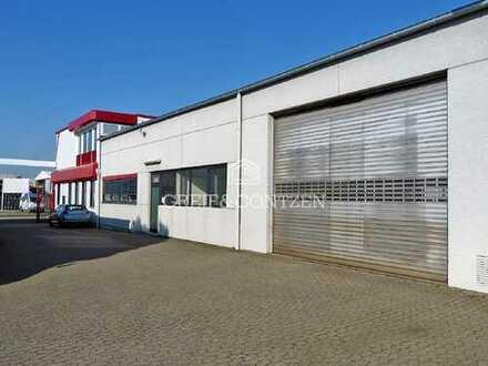 Funktionale Lager- und Produktionshalle im Kölner Norden (A1)