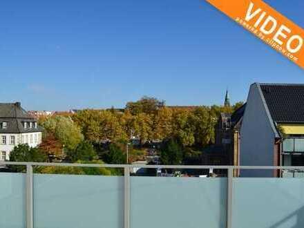 Inmitten der Innenstadt von Rheine! 3 Zimmer Mietwohnung  mit großer Dachterrasse
