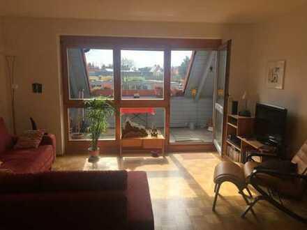 Sehr schöne zwei Zimmer Maisonette-Wohnung in Top-Lage von Stadtbergen