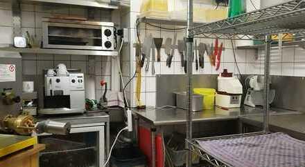 Bergisch-Gladbach: modernes Restaurant mit Außenterrasse in frequentierter Lage