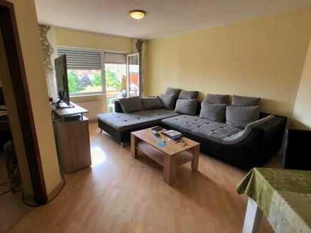 gepflegte 2-Zimmerwohnung mit Balkon und TG-Stellplatz