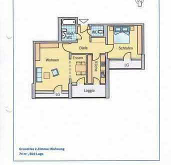 Helle 2,5 Zimmer Wohnung in einer sehr gute Gegend Tübingen WHO