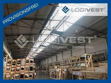Großzügige Logistikhallen direkt an der A 40 und A 43 / 15.000 m², teilbar