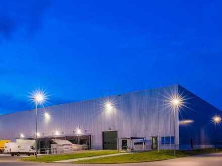 - PROVISIONSFREI -! 5.000 bis 16.000 qm Lager-oder Produktionsfläche im GVZ Augsburg-Gersthofen.