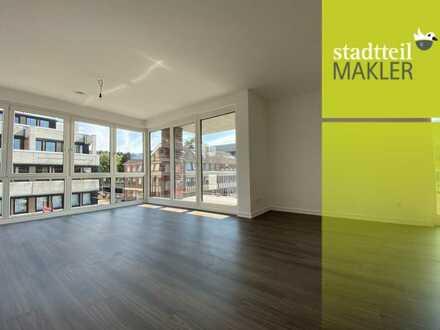 Ein echtes Neubau-Nest! 3 Zimmer Wohnung mit 2 Balkonen und Stellplatz; Brauhausstieg 47 in Wandsbek