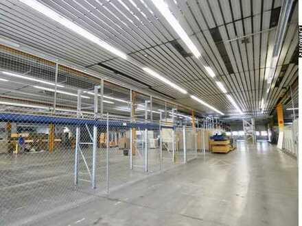 Gut gelegene Lager- & Produktionshalle (KA-Knielingen)