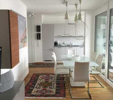 Hochwertige Neue voll moebelierte Wohnung/ Stadtmitte