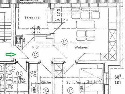 **tolle 2-Raum Wohnung mit Dachterrasse und Stellplatz in Oberhohndorf**
