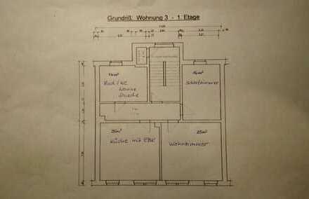 Preiswerte 2-Zimmer-Wohnung mit Einbauküche in Plauen