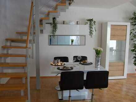 Exklusive, möbilierte 2-Zimmer-Maisonette-Wohnung, Tübingen-Weststadt