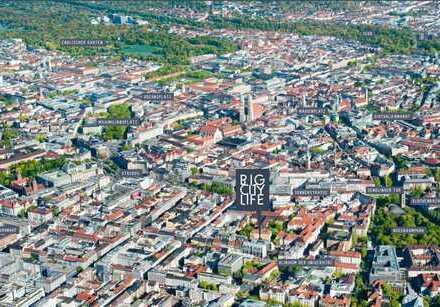 26 m² möbliertes Cityapartment Nähe Sendlinger Tor ! ruhige Lage am Klinikviertel !
