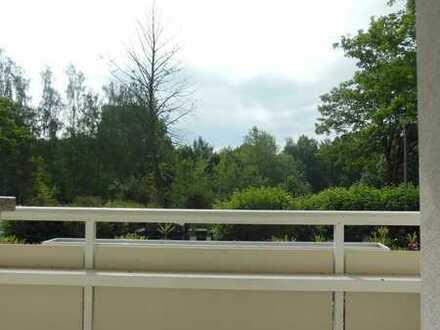Viel Platz für die Familie - Balkon mit Blick ins Grüne-Laminat-Badewanne!!!