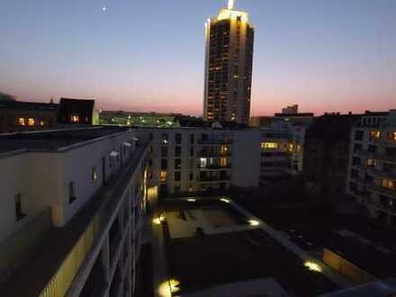 Stilvolle 3-Zimmer-Wohnung mit Balkon und EBK im Zentrum