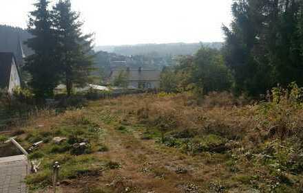 Wohnbaugrundstück - Südhang mit Aussicht
