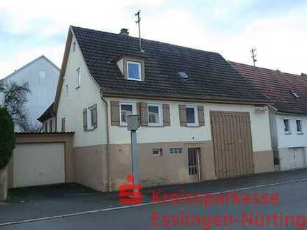 Abrisshaus in Wendlingen