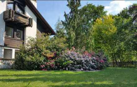 Sehr schöne, geräumige 4- Zimmer Gartenwohnung in Architektenhaus in Mitterteich zu vermieten!