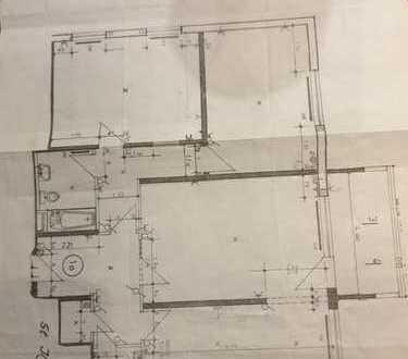 Exklusive, modernisierte 3,5-Zimmer-Wohnung mit Balkon in Leimen
