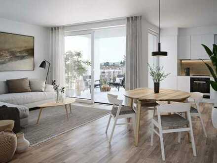 Moderne 3-Zimmer-Wohnung mit gemütlichem Balkon zum Innenhof