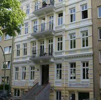 Rotherbaum: Klassischer 5-Zi-Altbau in Uninähe