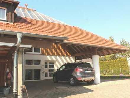 Top - Architektenhaus 202 m² Wfl. + 2 ELW, 58 + 67 m² Wfl., 11 Ar Randlage