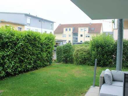 Schöne viereinhalb Zimmer Wohnung mit Garten in Benningen am Neckar