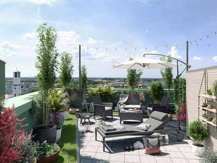 ENJOY hat alles vor der Haustür! Moderne 3-Zi. Wohnung mit Alpenblick in optimal angebundener Lage