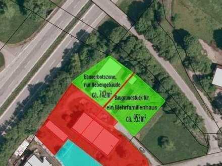 Großweil OT Zell: Baugrundstück für ein Zweifamilienhaus oder Doppelhaushälften