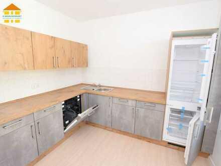 3 Zimmer * Erkerförmiges Wohnzimmer & nagelneue Einbauküche * anschauen lohnt sich auf jeden Fall