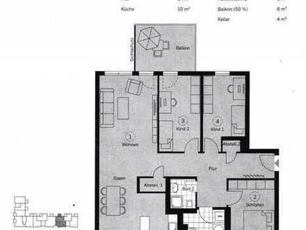 WohnRaumAgentur.de: Dietzenbach: Verkauf einer 4 Zimmerwohnung mit Balkon und Stellplatz