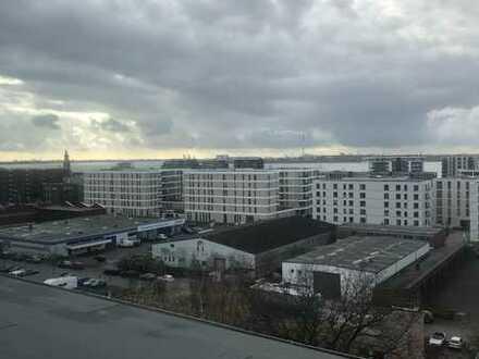 5-Zimmer Penthaus/Maisonette/Panorama-Meerblick über Bremerhaven