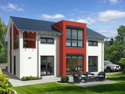 Ein Haus für die Familie mit Grundstück. Geräumig, freundlich, hell.