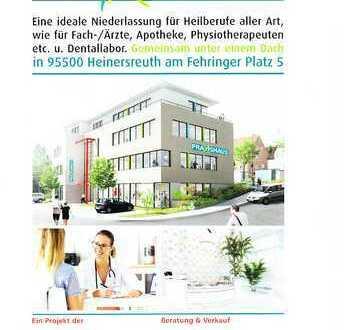Neubau in HEINERSREUTH für PRAXEN und BÜROS