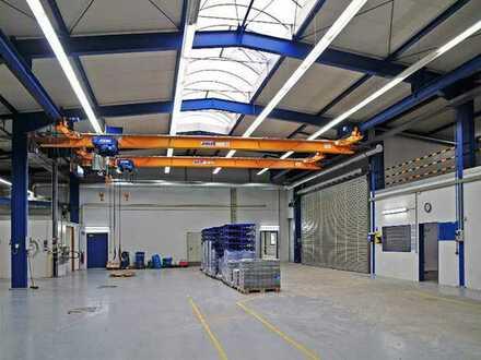 Hallenflächen* 2,5-32 t Kran * plus Büro
