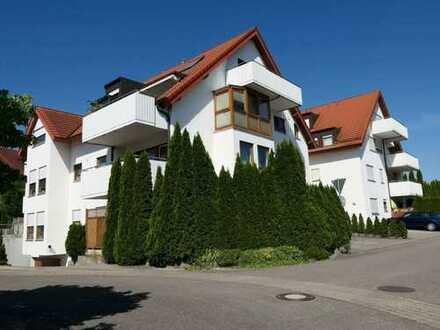 Großzügig geschnittene 2-Zimmerwohnung mit Terrasse und Garten in Obersulm