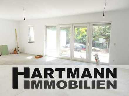Großzügige Terrassenwohnung im Neubau-Erstbezug in Schwanheim!