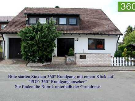 Großes, geräumiges Architekten-Haus mit Hallenbad und Büroräumen in Nürnberg, Weiherhaus/Pillenreuth