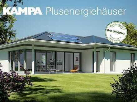 KAMPA-Bungalow, Erstes Selbstversorger-Haus vor Ort