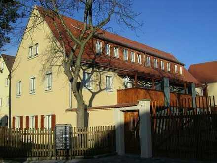 + helle 2-Zimmer-Wohnung mit Terrasse und Garten in Dresden-Kleinzschachwitz +