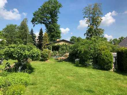 Wohnen wie im Urlaub- wunderschönes Baugrundstück mit kleinem EFH in Görlitz- Biesnitz