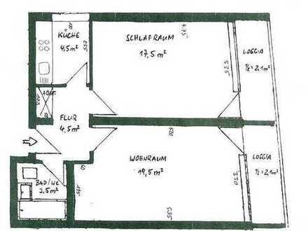 2-Zimmer Wohnung zentral in Forstenried