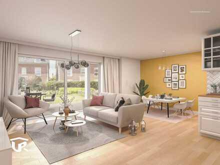 Sonnige 2-Zimmerwohnung mit Garten und Terrasse