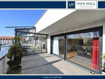 Möblierte Penthousewohnung mit Bestausstattung und TG Stellplatz!