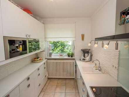 Stilvolle, modernisierte 4-Zimmer-Wohnung mit Balkon in Weilheim in Oberbayern