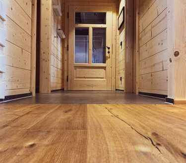 Wohnen im exklusiven Holzhaus mit hochwertiger Ausstattung