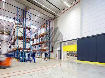 KEINE PROVISION ✓ NEUBAU ✓ Lager-/Logistik (2.000-5.500 m²) & Büro (500-1.000 m²) zu vermieten